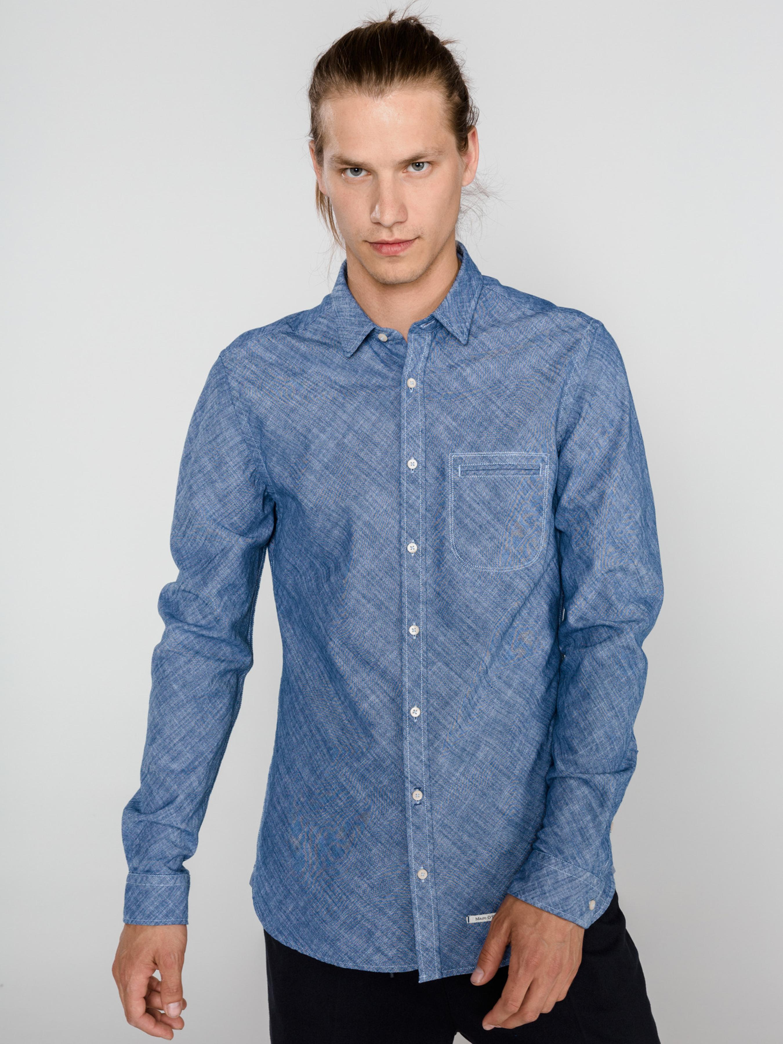 Рубашка с длинным рукавом мужские MARC O'POLO модель PE3048 купить, 2017