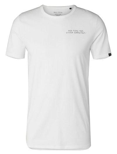 Купить Футболка мужская MARC O'POLO модель PE3057, Белый