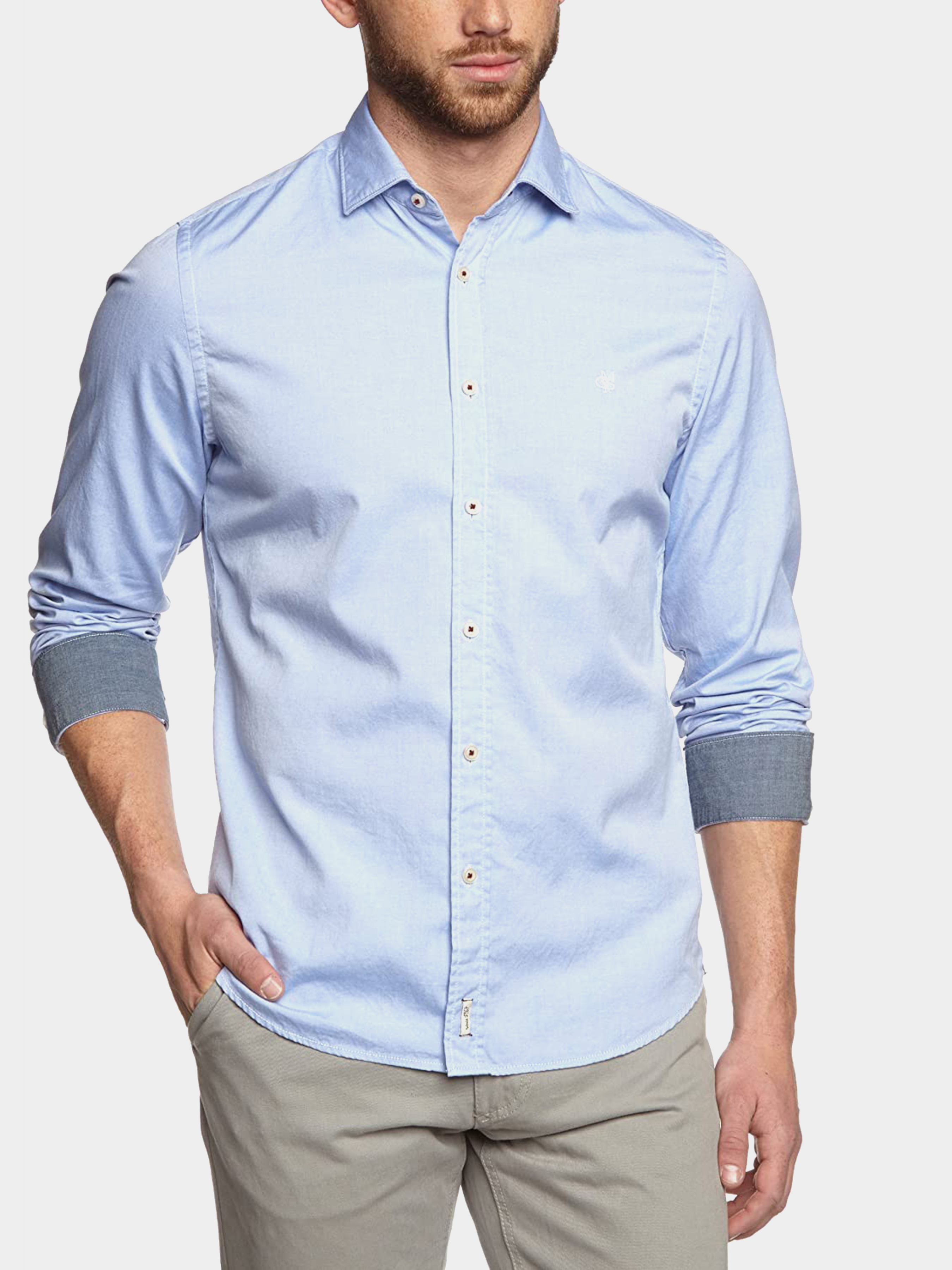 Рубашка с длинным рукавом мужские MARC O'POLO модель PE3077 купить, 2017