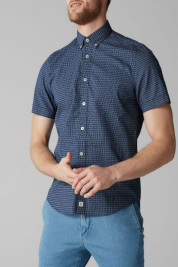 Рубашка с коротким рукавом мужские MARC O'POLO модель 823744841080-G85 качество, 2017