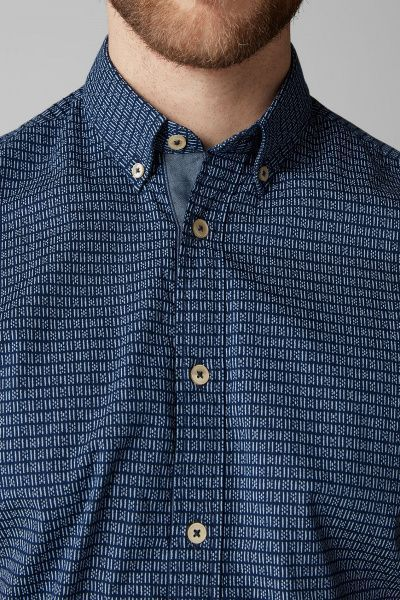 Рубашка с коротким рукавом мужские MARC O'POLO PE3115 примерка, 2017