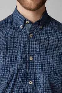Рубашка с коротким рукавом мужские MARC O'POLO модель PE3115 характеристики, 2017