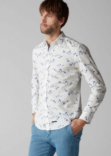 Рубашка с длинным рукавом мужские MARC O'POLO модель PE3118 купить, 2017