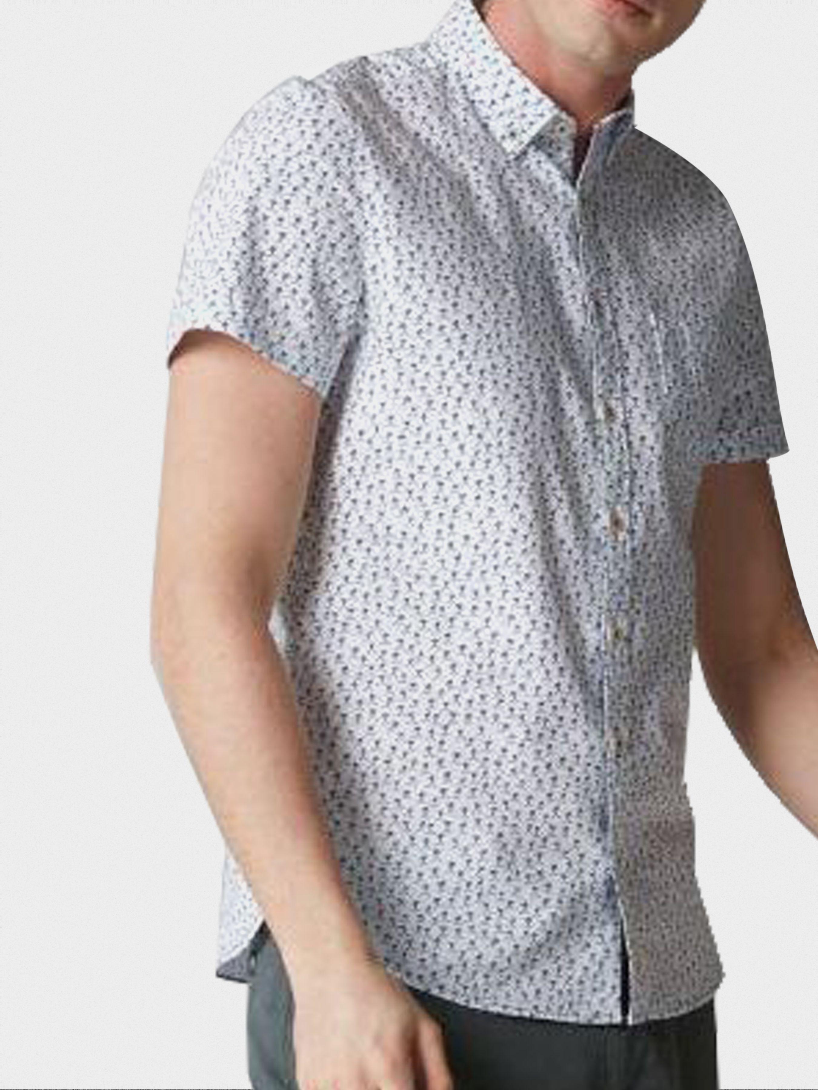 Рубашка с коротким рукавом мужские MARC O'POLO модель PE3157 приобрести, 2017