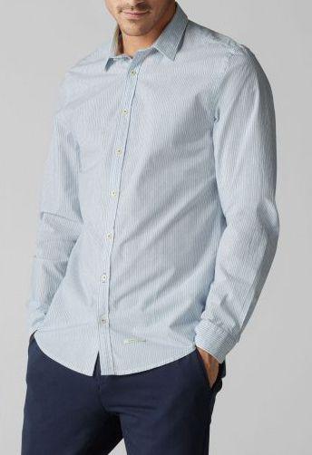 MARC O'POLO Рубашка с длинным рукавом мужские модель PE3162 купить, 2017