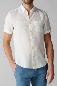Рубашка с коротким рукавом мужские MARC O'POLO модель PE3163 цена, 2017