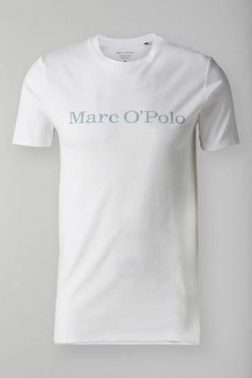 Футболка Marc O'Polo модель 820222051252-100 — фото - INTERTOP
