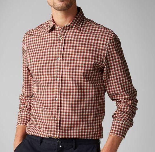 Рубашка с длинным рукавом мужские MARC O'POLO модель PE3251 купить, 2017