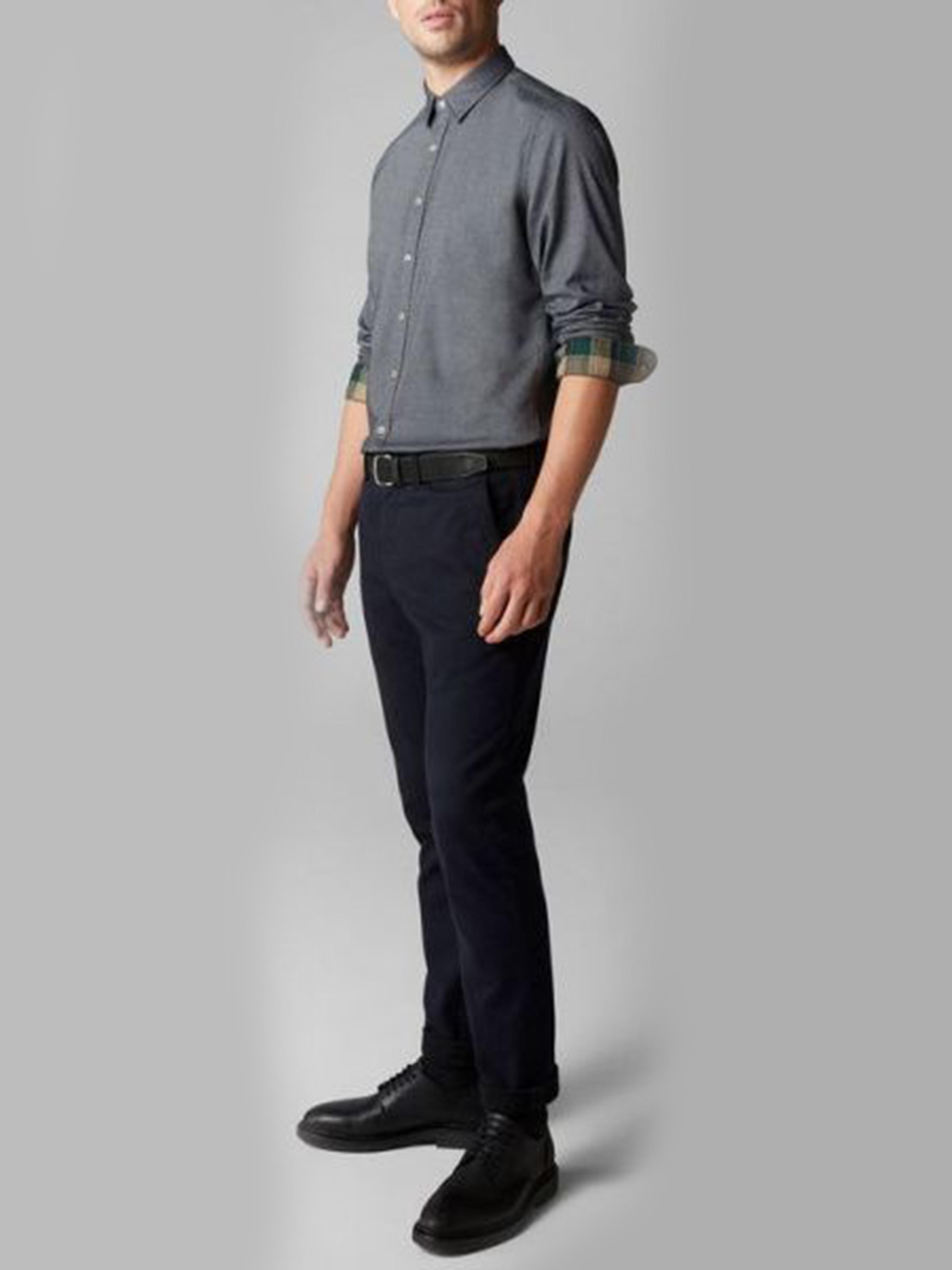 Рубашка с длинным рукавом мужские MARC O'POLO модель PE3278 приобрести, 2017