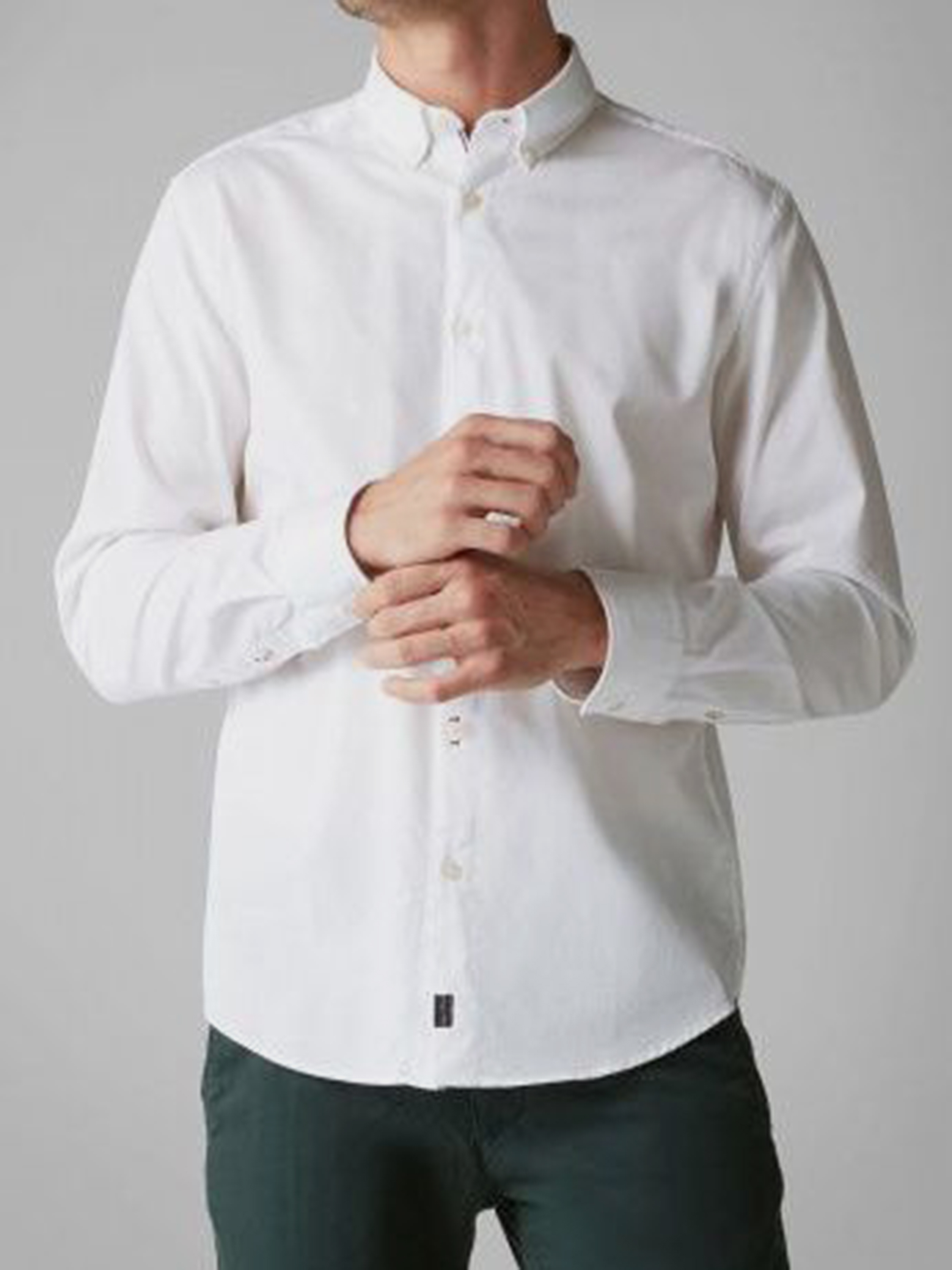 Рубашка с длинным рукавом мужские MARC O'POLO модель PE3286 купить, 2017