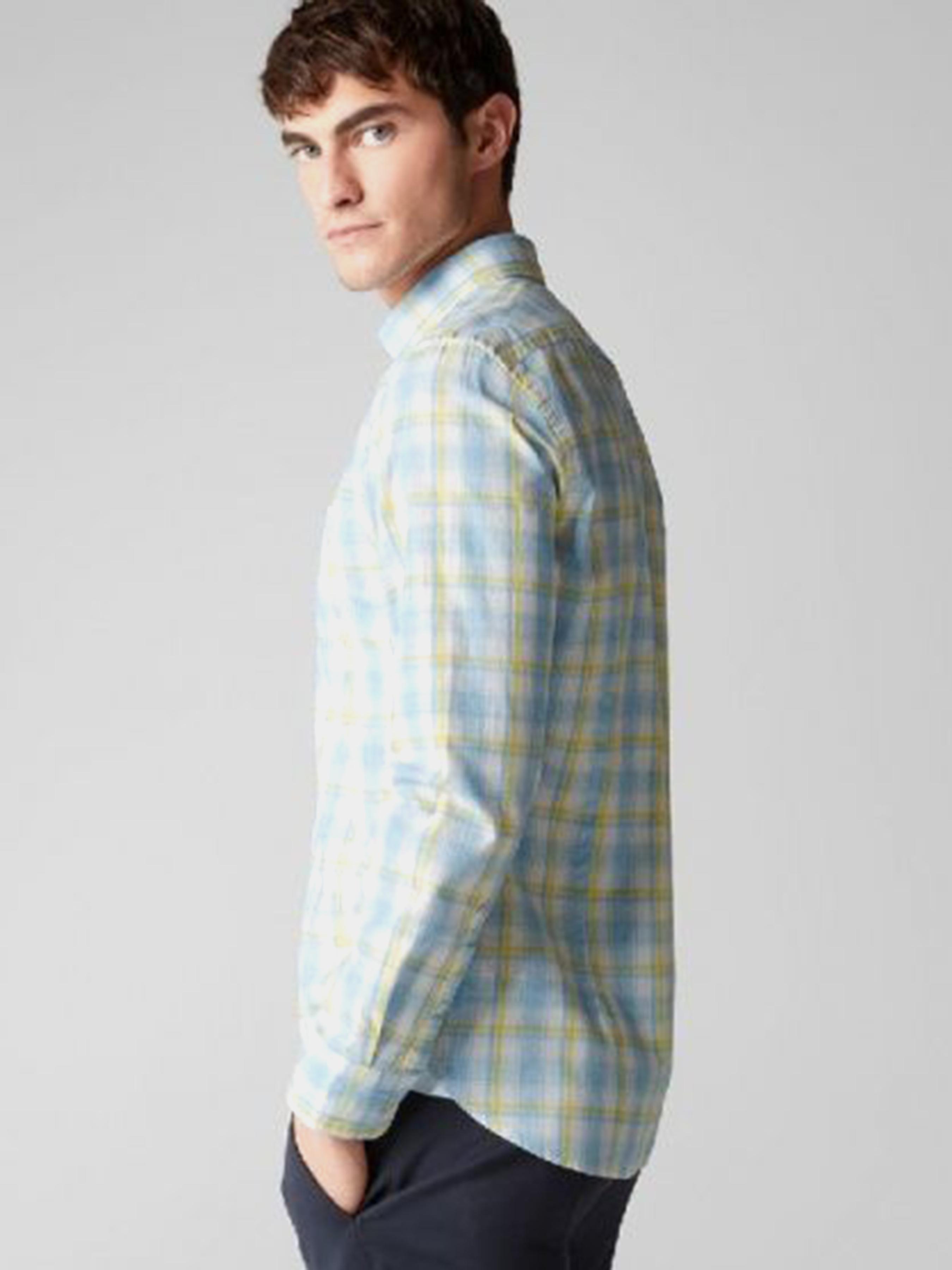 Рубашка с длинным рукавом мужские MARC O'POLO модель PE3318 цена, 2017