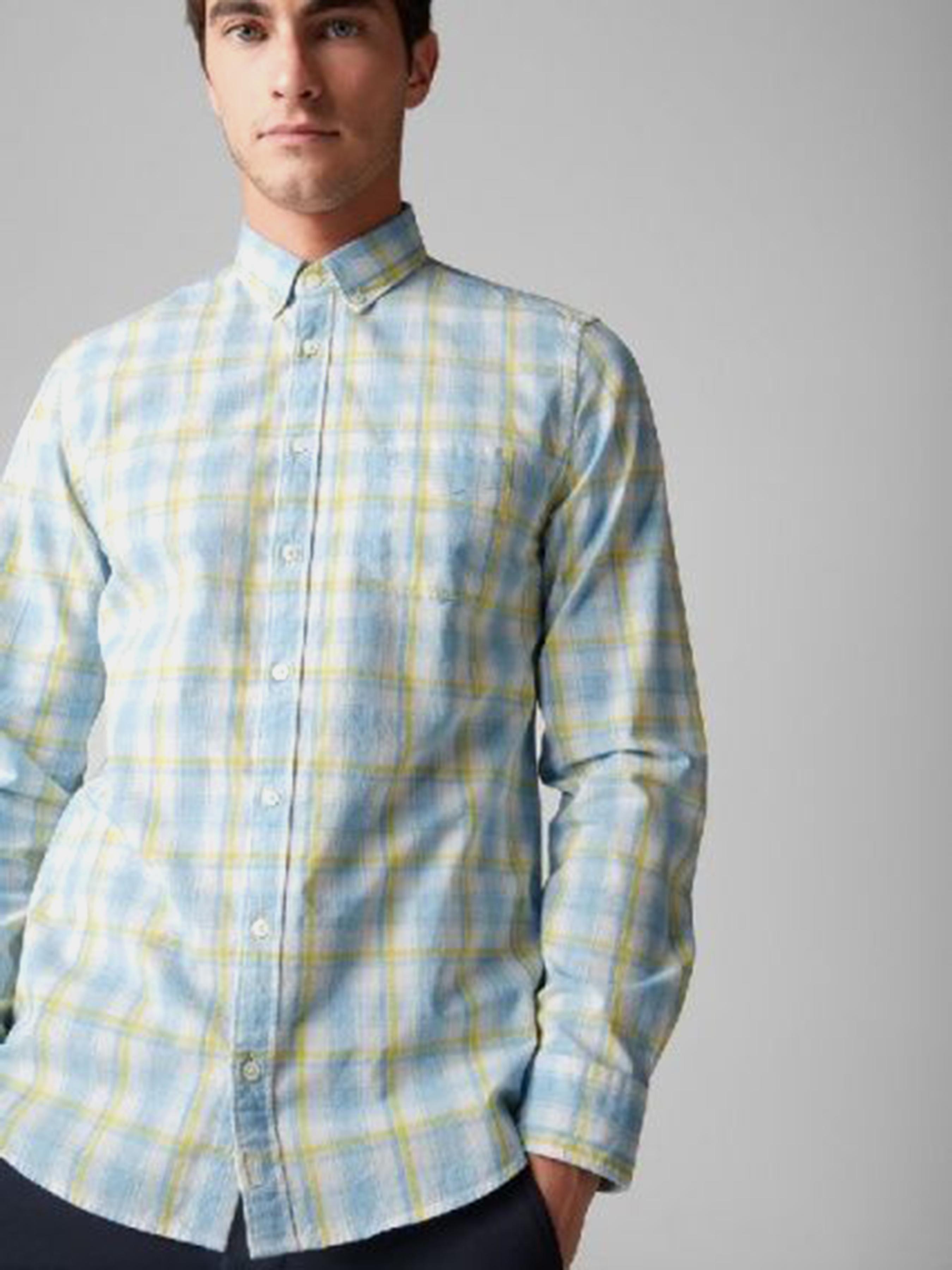 Рубашка с длинным рукавом мужские MARC O'POLO модель PE3318 характеристики, 2017