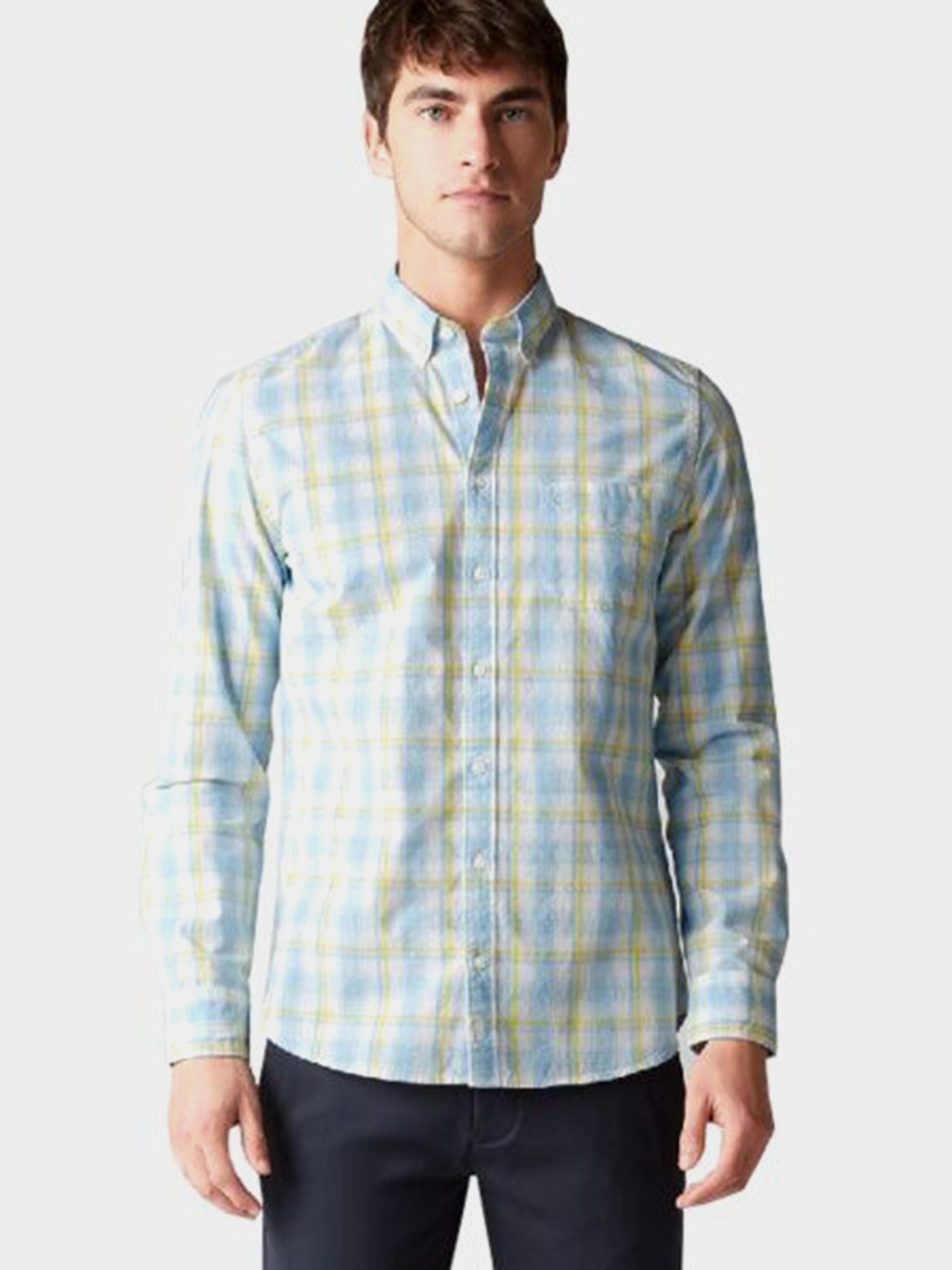 Рубашка с длинным рукавом мужские MARC O'POLO модель PE3318 купить, 2017