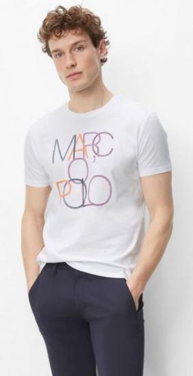 Футболка Marc O'Polo модель 922222051064-100 — фото - INTERTOP