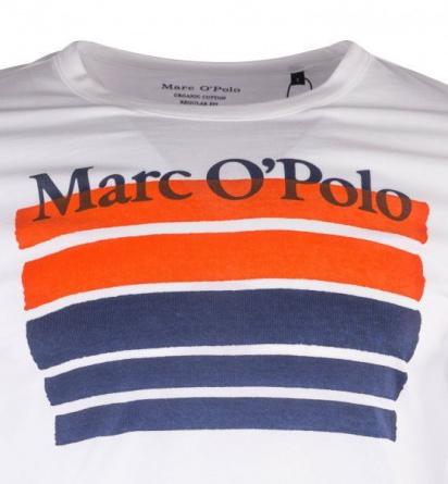 Футболка Marc O'Polo модель 923222051384-100 — фото 3 - INTERTOP