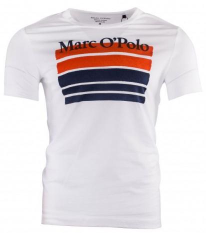 Футболка Marc O'Polo модель 923222051384-100 — фото - INTERTOP