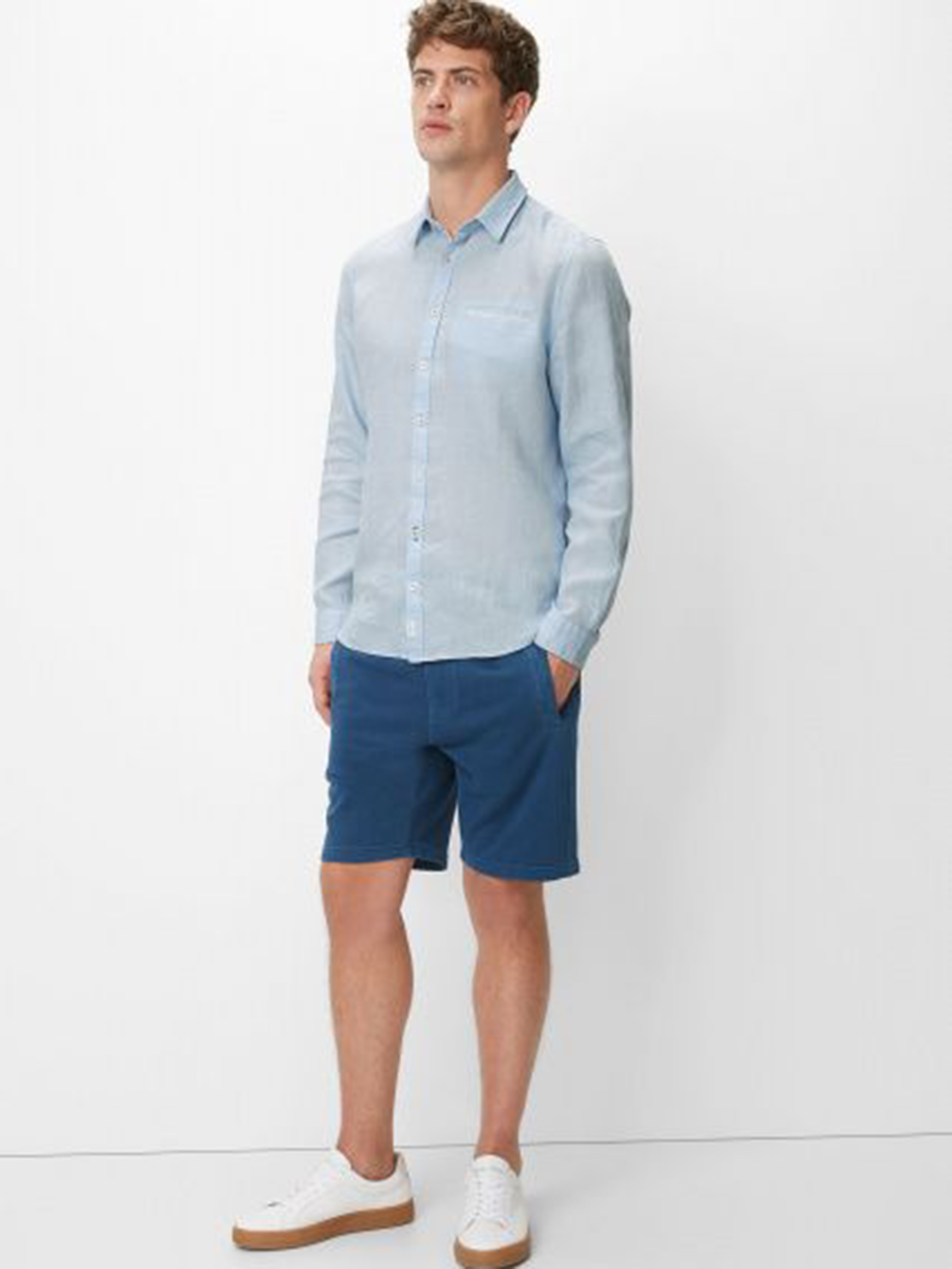 Рубашка с длинным рукавом мужские MARC O'POLO модель PE3386 характеристики, 2017