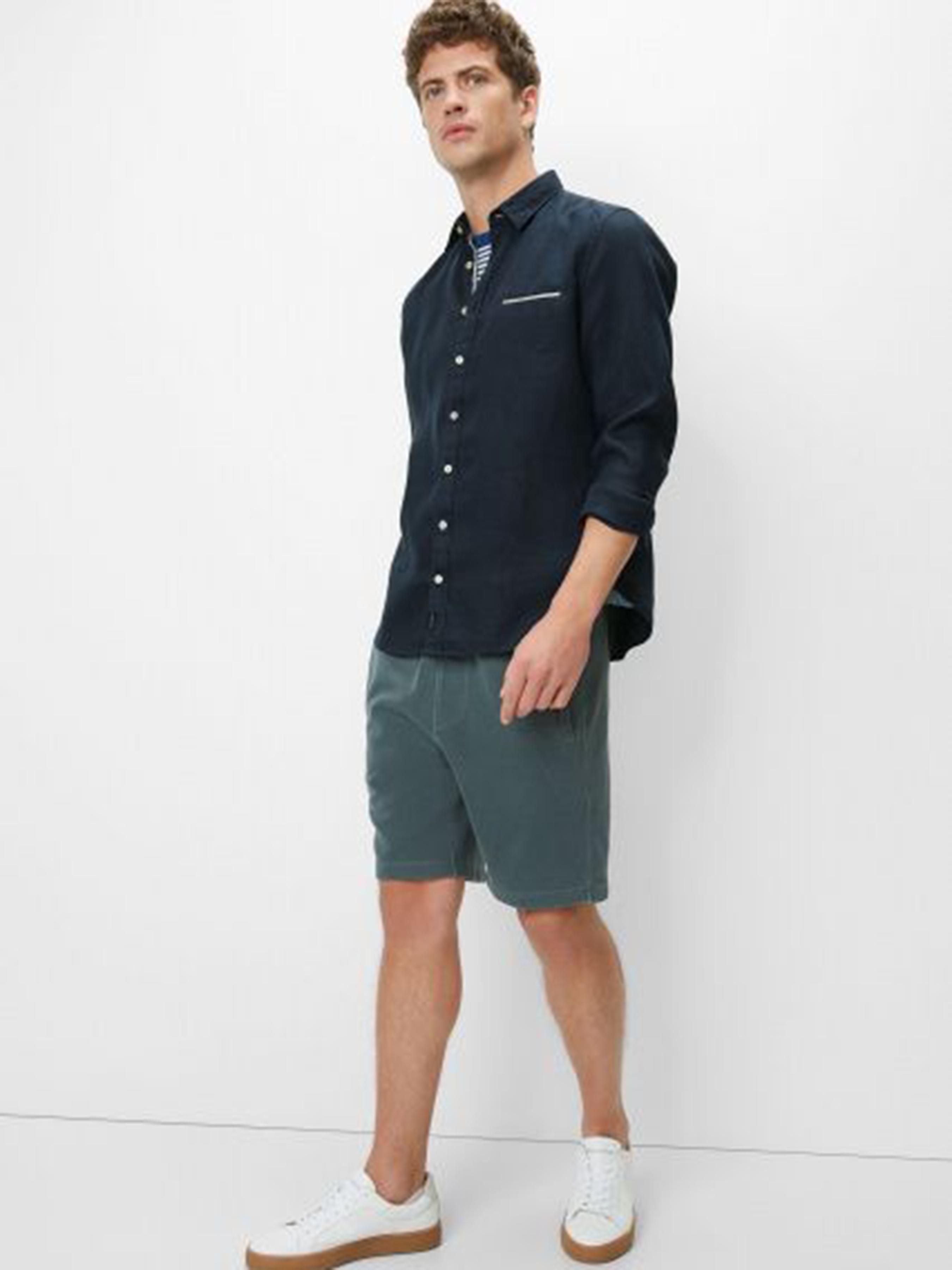 Рубашка с длинным рукавом мужские MARC O'POLO модель PE3387 характеристики, 2017
