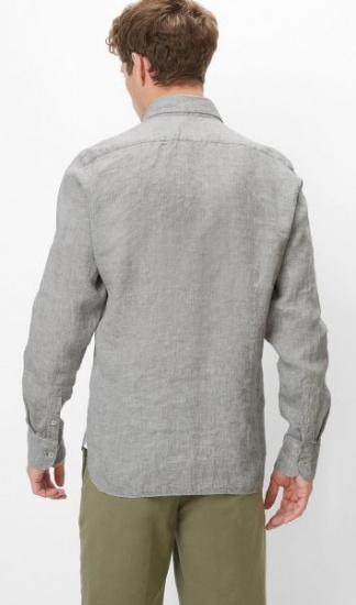 Сорочка з довгим рукавом Marc O'Polo модель 923744742396-M96 — фото 3 - INTERTOP
