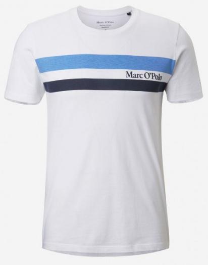 Футболка Marc O'Polo модель 924222051246-100 — фото - INTERTOP