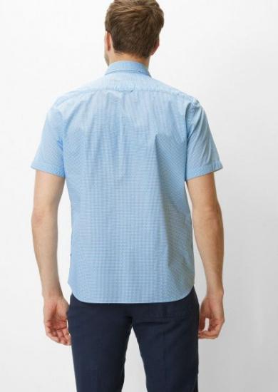 Сорочка з коротким рукавом Marc O'Polo модель 924735941060-N80 — фото 3 - INTERTOP