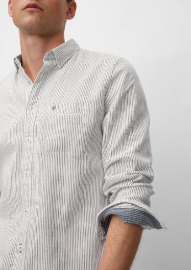 Сорочка з довгим рукавом Marc O'Polo модель 926737442052-O84 — фото 4 - INTERTOP