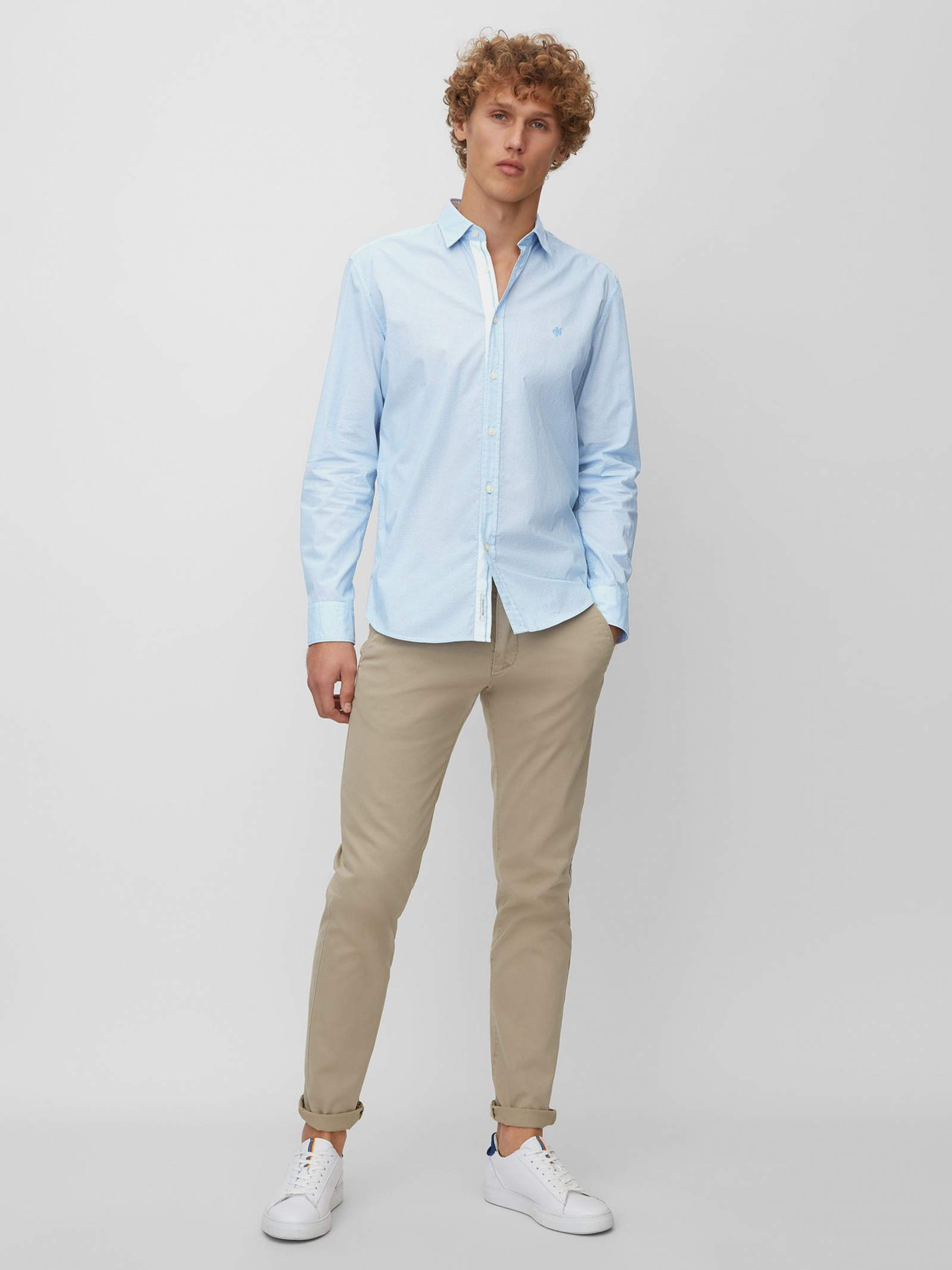 Рубашка мужские MARC O'POLO модель PE3604 отзывы, 2017