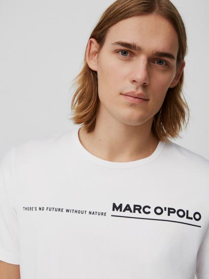 Футболка Marc O'Polo модель 122224051062-100 — фото 5 - INTERTOP
