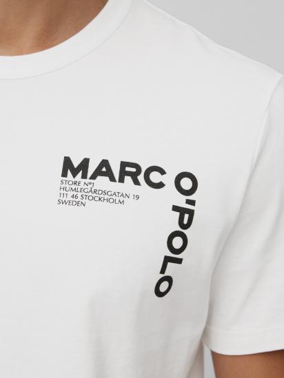 Футболка Marc O'Polo модель 122201651020-100 — фото 5 - INTERTOP
