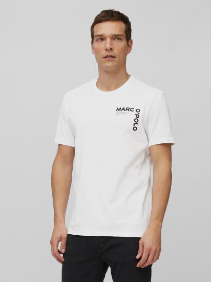 Футболка Marc O'Polo модель 122201651020-100 — фото - INTERTOP