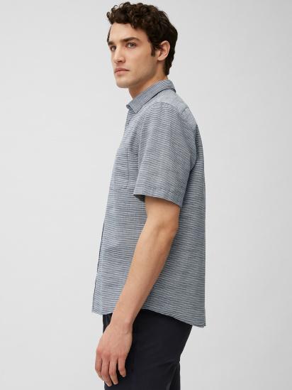 Сорочка з коротким рукавом Marc O'Polo модель 123727641030-X83 — фото 4 - INTERTOP
