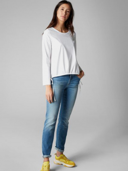 Блуза з довгим рукавом Marc O'Polo модель M01145742055-100 — фото 4 - INTERTOP