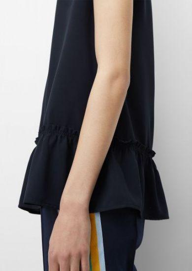 Блуза з коротким рукавом Marc O'Polo DENIM модель 943103840001-815 — фото 4 - INTERTOP