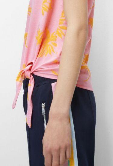 Блуза з коротким рукавом Marc O'Polo DENIM модель 943236051055-T24 — фото 4 - INTERTOP