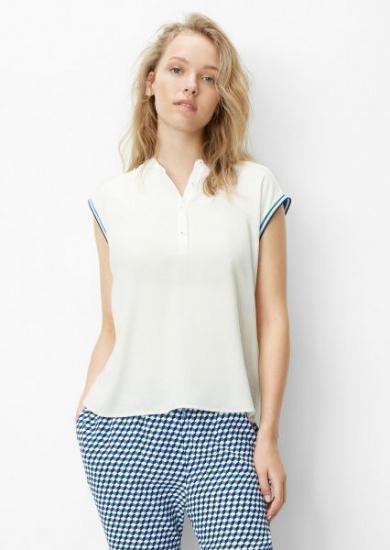 Блуза з коротким рукавом Marc O'Polo DENIM модель 945103840011-106 — фото 2 - INTERTOP