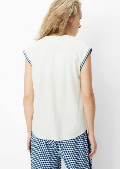 Блуза з коротким рукавом Marc O'Polo DENIM модель 945103840011-106 — фото 3 - INTERTOP