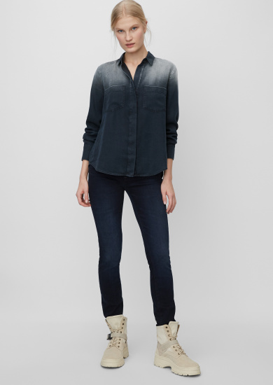 Блуза з довгим рукавом Marc O'Polo модель 001915742229-881 — фото 4 - INTERTOP