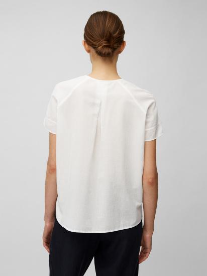 Блуза з коротким рукавом Marc O'Polo модель 104104341057-100 — фото 2 - INTERTOP