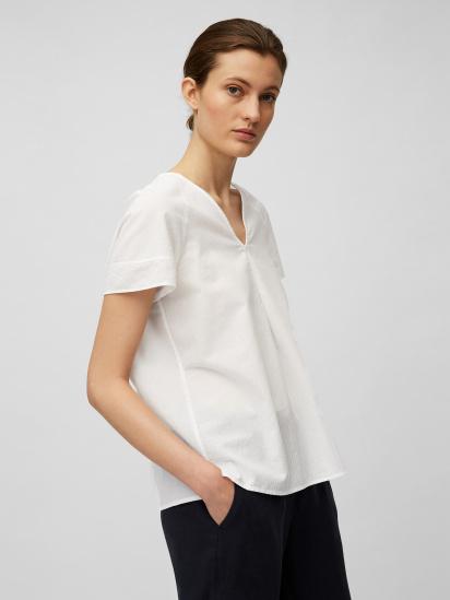 Блуза з коротким рукавом Marc O'Polo модель 104104341057-100 — фото 3 - INTERTOP