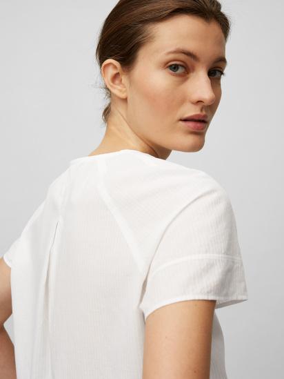 Блуза з коротким рукавом Marc O'Polo модель 104104341057-100 — фото 4 - INTERTOP