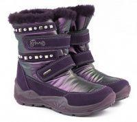 детская обувь Primigi фиолетового цвета, фото, intertop