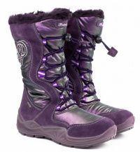 Фиолетовые сапоги Для девочек, фото, intertop