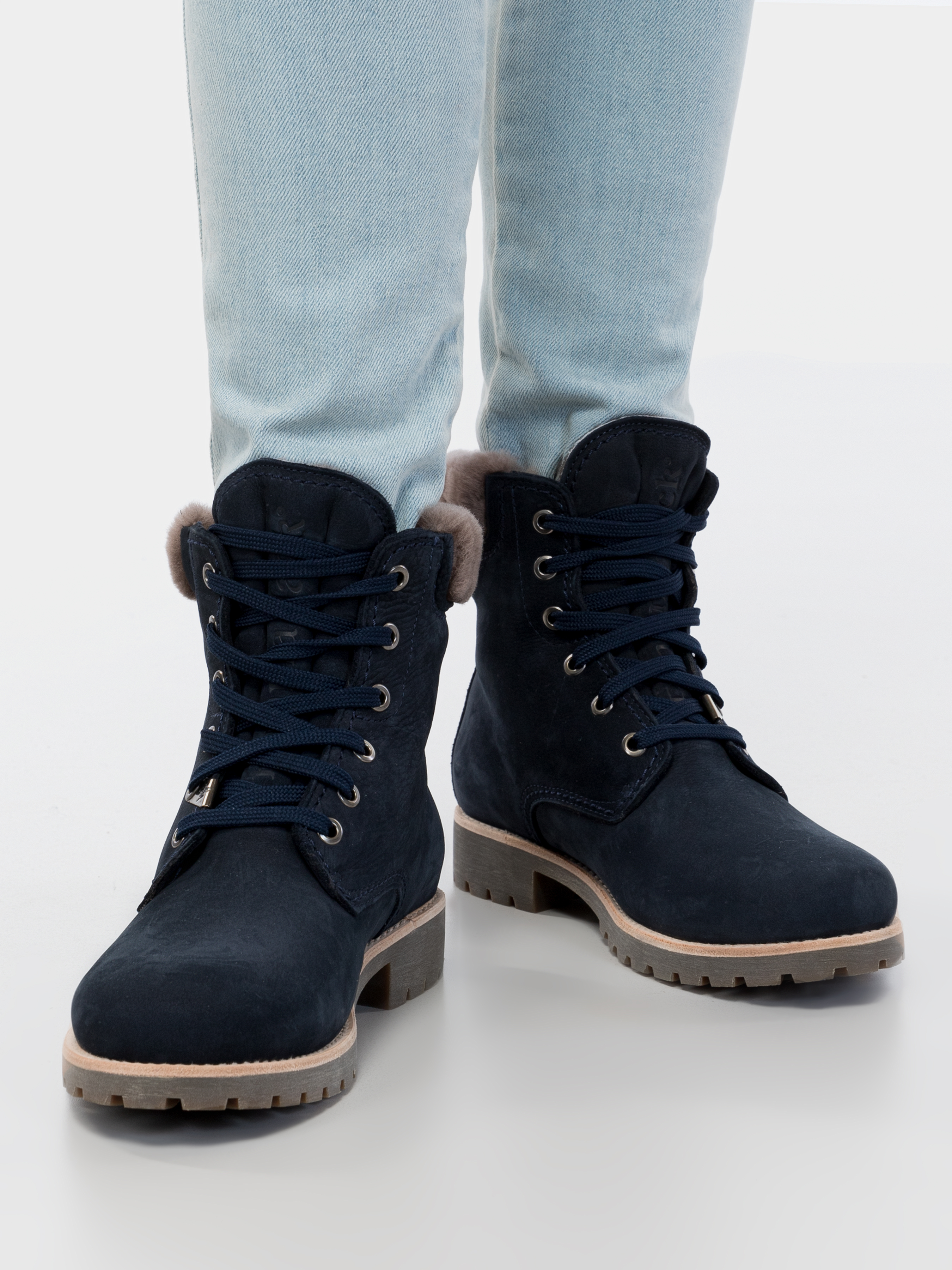 Купить Ботинки женские Panama Jack PW118, Синий
