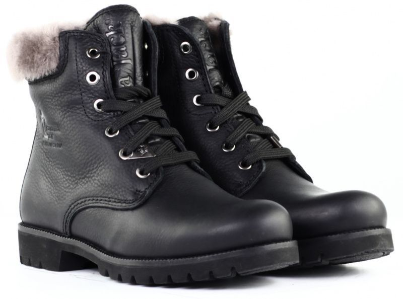 Ботинки женские Panama Jack PW95, Черный  - купить со скидкой