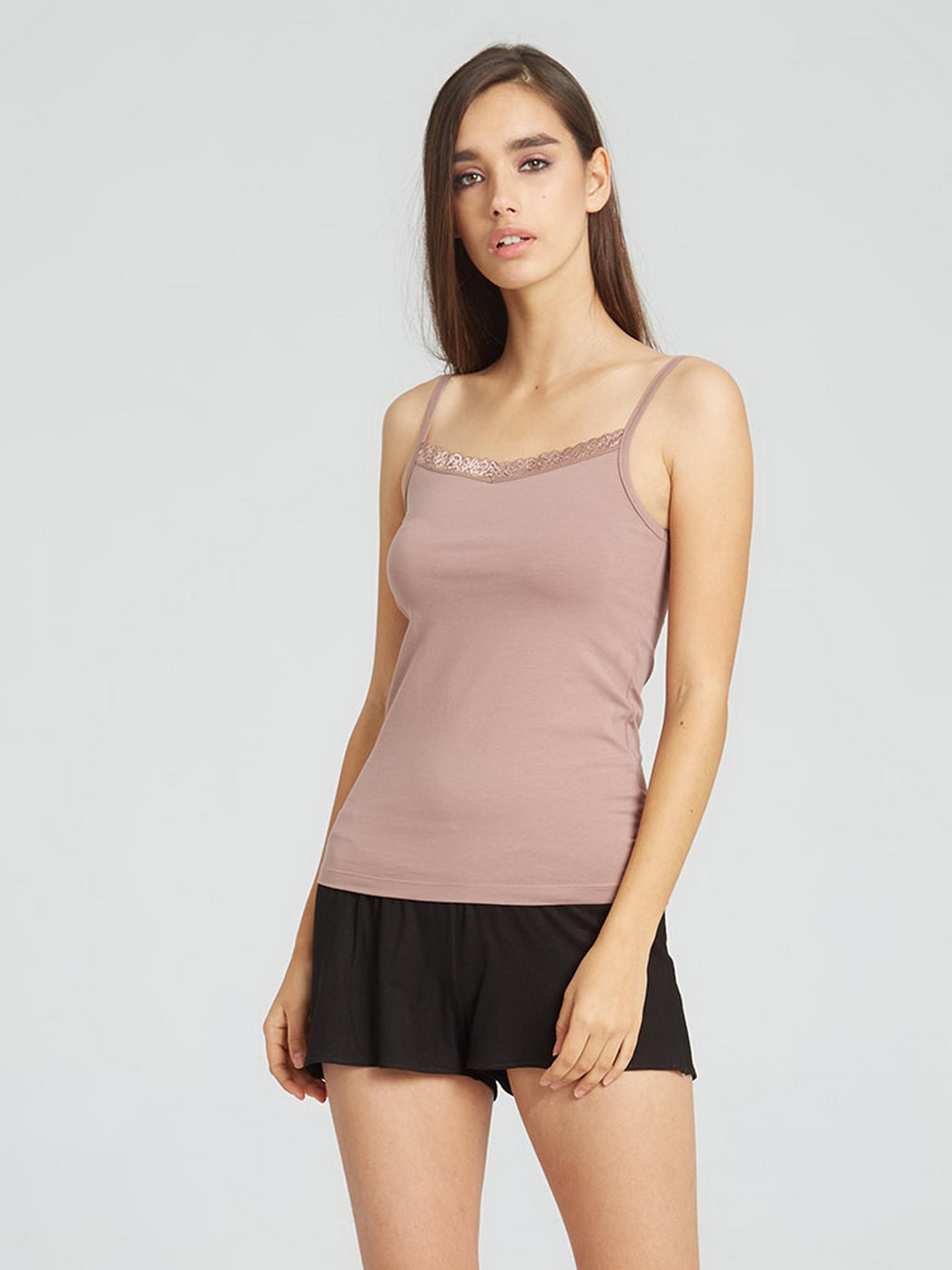 Купить Майка женская Promin модель 2011-11 МОККО, Бежевый