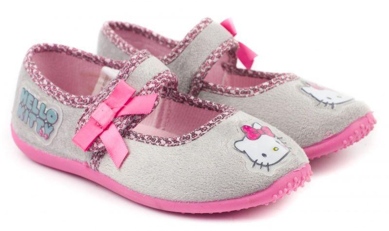 Тапки детские Intertop licence тапки дів. (24-30) Hello Kitty QH8 обувь бренда, 2017