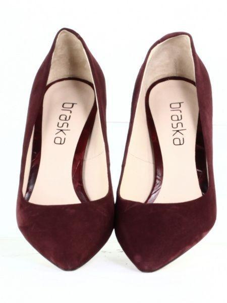 Туфли для женщин Braska QL20 брендовая обувь, 2017