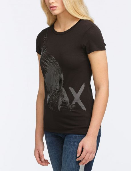 Футболка женские Armani Exchange WOMAN JERSEY T-SHIRT QZ1152 , 2017