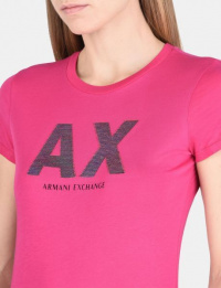 Футболка женские Armani Exchange модель 6YYTBA-YJA8Z-1408 приобрести, 2017