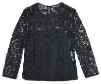 Черные Женские Блуза цена, 2017